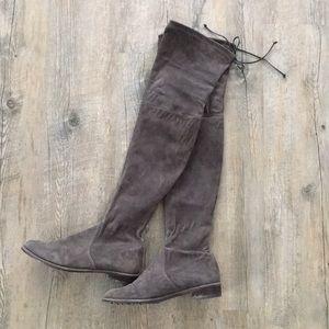 Stuart Weitzman Lowland Grey boots